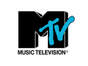 MTV black and blue logo
