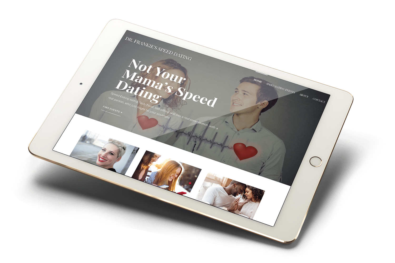 Dr.-Frankie-Speed-Dating-Website-Mockup